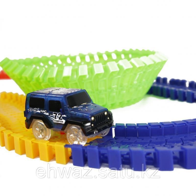 Детская игрушечная дорога Magic Tracks 165 деталей + машинка