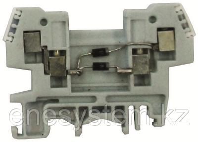 Зажим наборный со встроенными элементами ЗН27-2,5ДВ44 тип 2