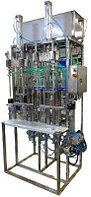 Автоматическая линия розлива хим жидкостей в канистры