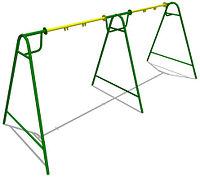 Качели двойные без подвеса для улицы Размеры: 4890 x 1775 x 2065 мм