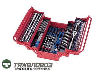 Набор инструментов универсальный в раскладном ящике (62 шт.) 902-062MR