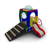 Детское Игровое оборудование «Станция» Размеры: 3480х2580х2160мм