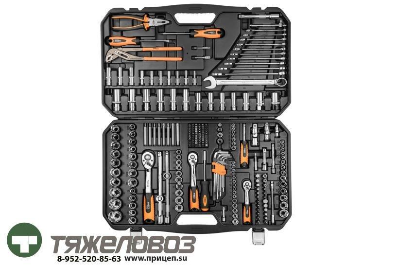 Набор головок с трещотками и ключей (233 шт.) 08-681