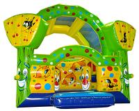 """Батут детский игровой коммерческий  """"Лесовичок"""" размер 4,1х3,3х3,1 м"""