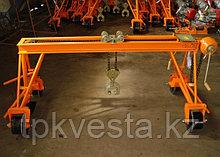 Кран съемный для сменя рельс КП-1350