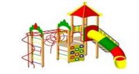 Детский Игровой комплекс для улицы Размеры 5745х5210х3940мм