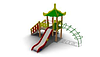 Детский Игровой комплекс для улицы Размеры 5100х4535х4015мм
