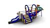 Детский Игровой комплекс для улицы Размеры 4695х1645х2410мм