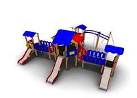 Детский Игровой комплекс для улицы Размеры 8660х8535х3685мм