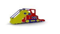 Детская уличная Горка Трактор Размеры: 2870х595х1700мм
