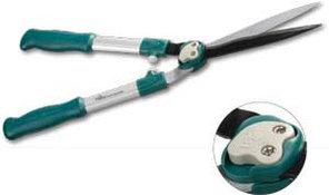 Кусторез RACO с алюминиевыми ручками и прямыми лезвиями, 600мм