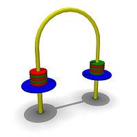 Детское уличное Игровое оборудование Размеры 900х300х920мм