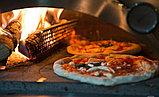 Печем пиццу на дровах в дровяной итальянской печи Akita jp Pizza Party экспресс пицца за 1 минуту, фото 2