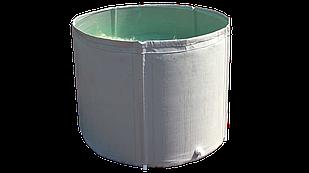 Складная бочка без крышки 500 литров Ø 80 см. H-100 см.