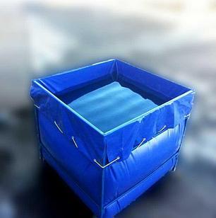 Бак из ПВХ ткани с металлическим каркасом 4000 литров
