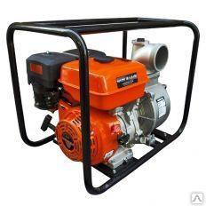 Мотопомпа бензиновая GROST 100ZB26-5.8Q для чистой и слабозагрязненной воды