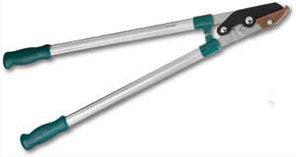 Сучкорез RACO с алюминиевыми ручками, 2-рычажный, с упорной пластиной, рез до 40мм, 800мм