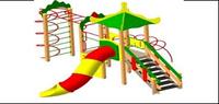 Детский Игровой комплекс для улицы Размеры 5810х5220х4565мм