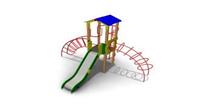 Детский Игровой комплекс для улицы Размеры9225х8295х4265мм