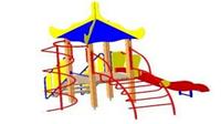 Детский Игровой комплекс для улицы Размеры 3685х3645х3565мм