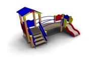 Детский Игровой комплекс для улицы Размеры 3405х2170х2320мм