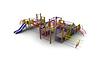 Детский Игровой комплекс для улицы Размеры 1100х8250х2925мм