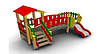 Детский Игровой комплекс для улицы Размеры 3230х2000х2270мм