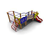 Детский Игровой комплекс для улицы Размеры 2625х2225х2685мм