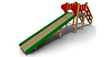 Детская уличная Горка зимняя малая Размеры: 6060x 1050 x 2350 мм