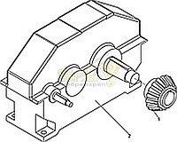 Редуктор механизма вращения нового образца СБ крана ДЭК-251