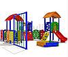 Детский игровой комплекс уличный «Детский сад 3»