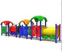 Детский игровой комплекс для улицы «Вагоновожатый 2»