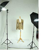 2Х зонта 82 см на отражение с патроном с лампой 175 W на стойках, фото 3