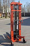 Штабелер гидравлический 1,0/1600, фото 3