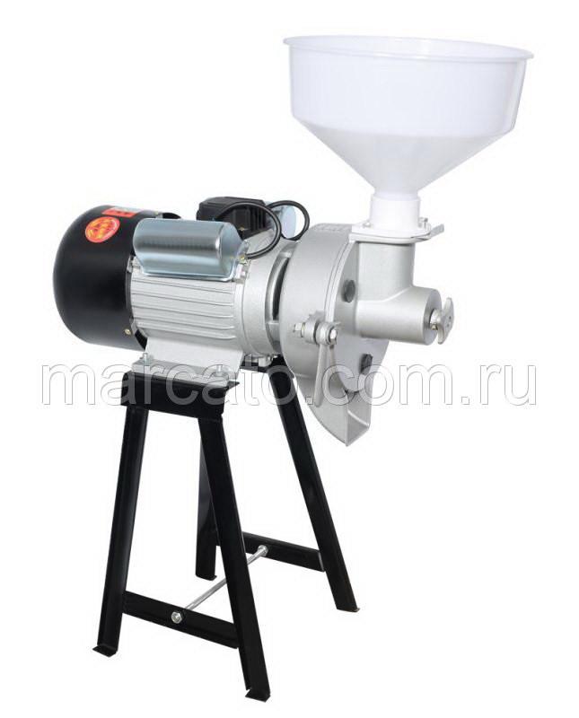 Akita jp ML-MA (алюминиевая голова 3,5 КВт) электрическая жерновая мельница для помола зерна и зерновых в муку