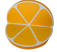 Мат круглый Апельсиновая долька (складной) D100 см. H10