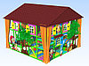 Уличный игровой лабиринт Гном-дом