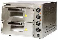 Печь для пиццы 2-х камерная