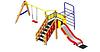 Детский Игровой комплекс для улицы Размеры 6195х3190х2420мм