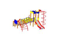 Детский Игровой комплекс для улицы Размеры 2020х1757х1905мм