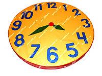 Мягкий модуль мат круглый Часы