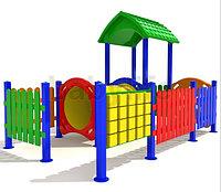 Детский игровой комплекс для улицы «Дворик3», фото 1