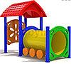 Детский игровой комплекс для улицы «Паровозик1»