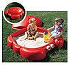 Песочница для детей с крышкой «Краб»