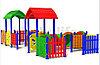 Детский игровойкомплекс для улицы «Дворик4»