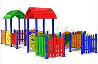 Детский игровойкомплекс для улицы «Дворик4», фото 1