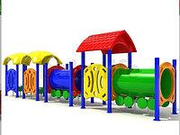 Детский игровой комплекс для улицы  «Вагоновожатый 4»