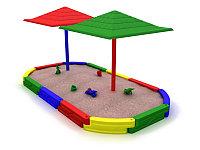 Песочница детская для дачи «Колизей-2»