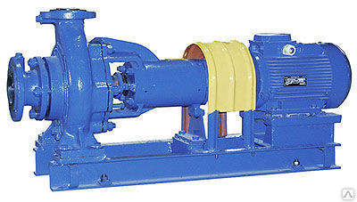 Насос центробежный фекальный СМ 100-65-250/4 с двигателем