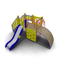 Детский игровой комплекс для улицы ИК-13 Размеры 4500х4380х2150мм